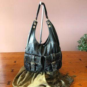 HYPE Leather Hobo Bag